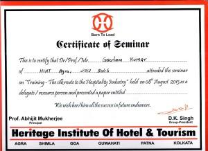 silk route certificate